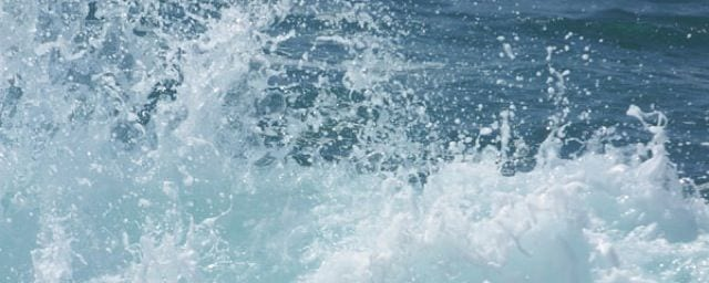 Meerwasser: ideal zur Befeuchtung der Schleimhäute