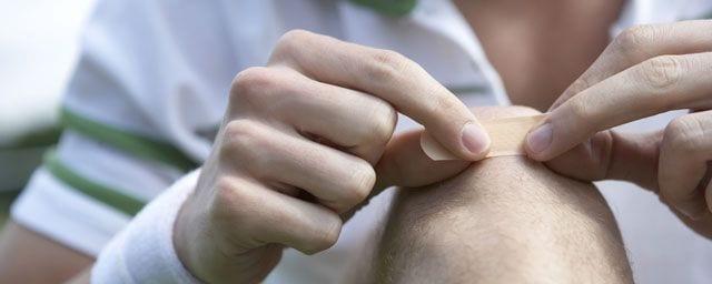 Kleinere Wunden und Hautläsionen