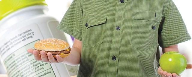 Die Fast-Food-Kultur benötigt Gegenwehr durch Vitamine