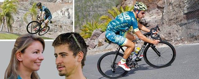 Un ciclista diverso dagli altri!