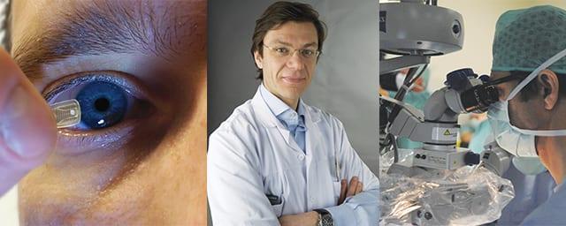 Erste künstliche Retina der Schweiz in Lausanne implantiert!