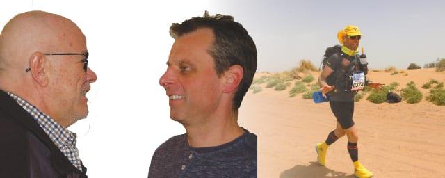 Er rennt und rennt – selbst in der Wüste